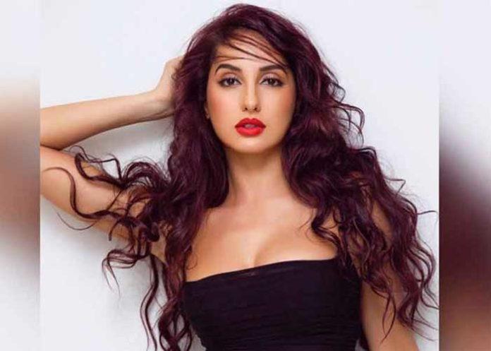Nora Fatehi Black