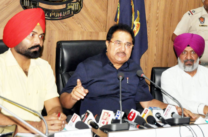 OP Soni at press confrations