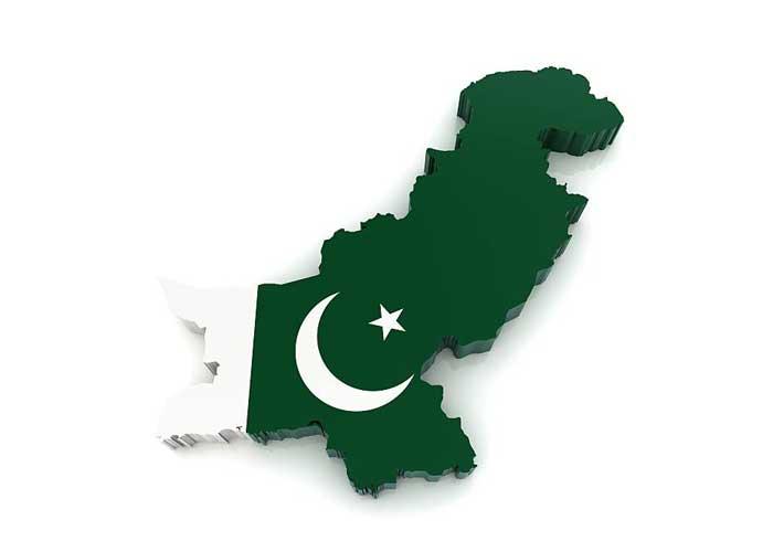 Pakistan Map Flag