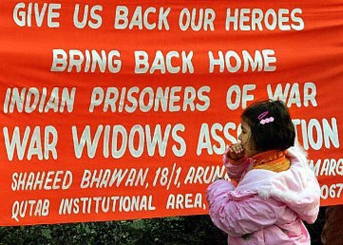 Prisoners of war banner