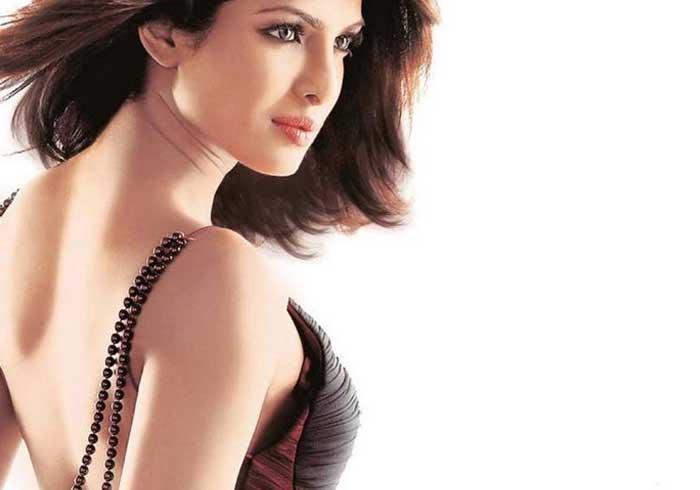 Priyanka Chopra Back