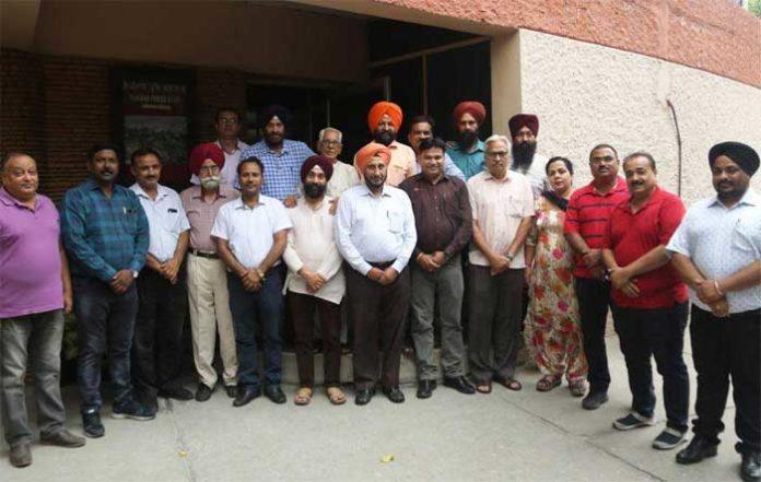 Punjab Press Club Meeting 8Jul19
