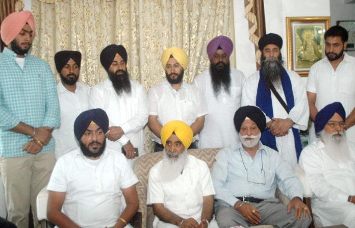 Sewa Singh Bir Devinder Ujagar Singh and Babby Badal