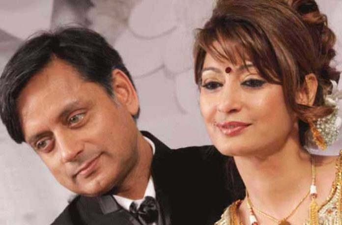 Sunanda Pushkar Shashi Tharoor