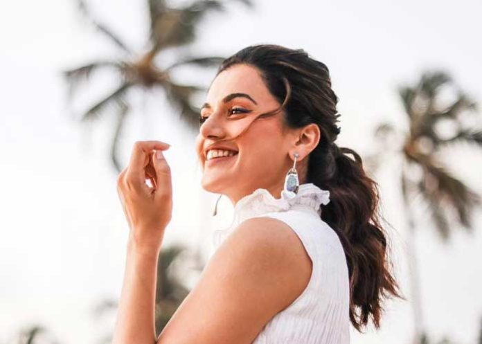 Taapsee Pannu Smiling