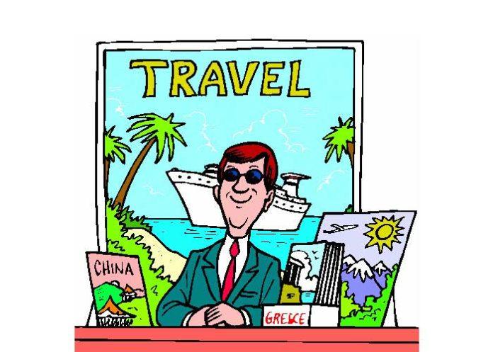 Travel Agent Cartoon