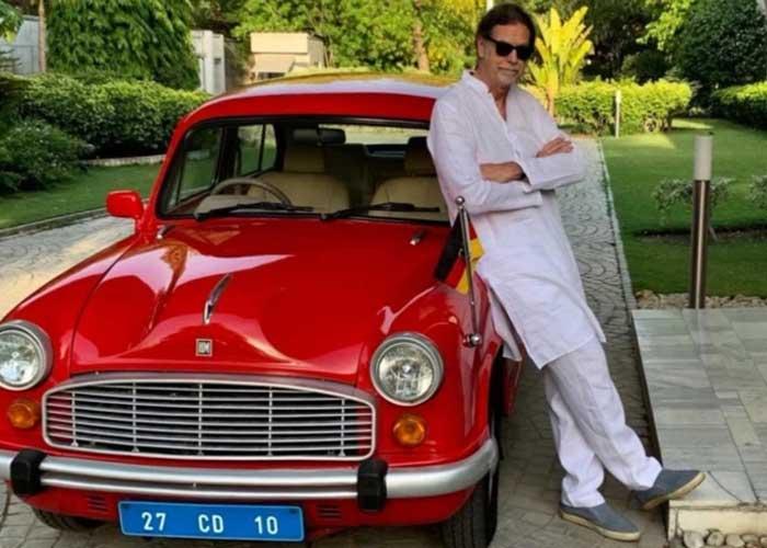Walter J Lindner Red Car