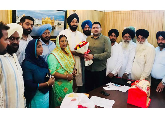 Akali Dal honors loyal and hard working workers