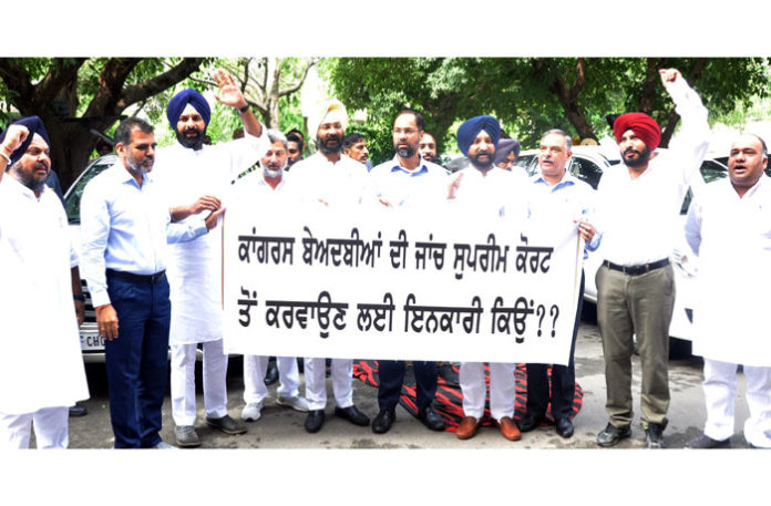 Akali MLAs blocked from entering Assembly 1
