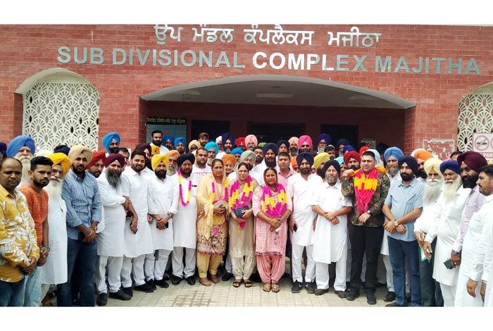 Amarjit Kaur Dadupura elected Chairperson Majitha