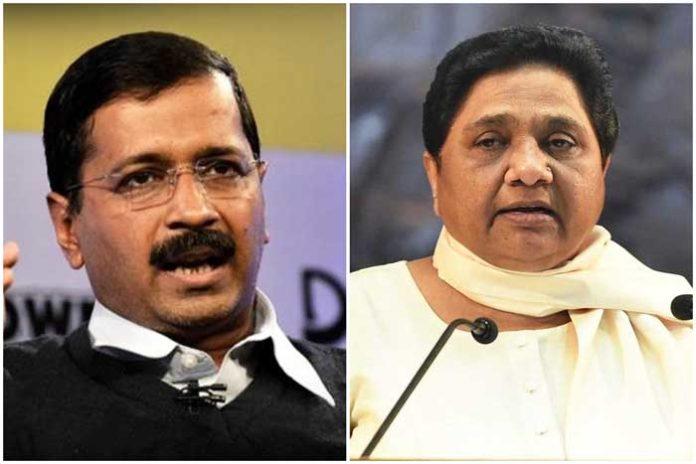 Arvind Kejriwal Mayawati