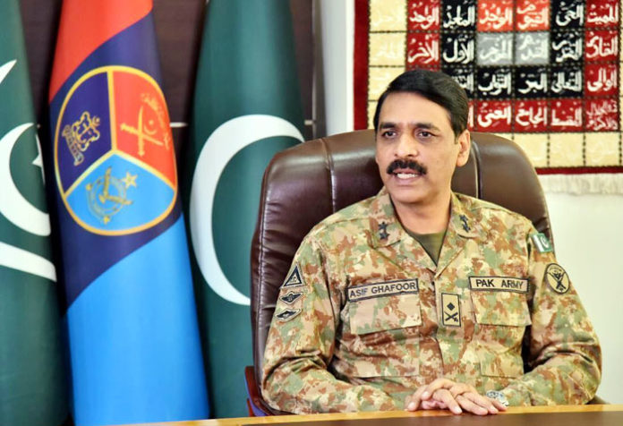 Asif Ghafoor Major General