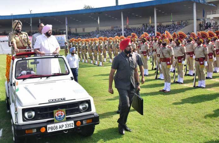 Capt Amarinder IDay 2019 March Past Salute