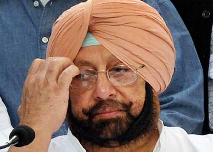 Capt Amarinder Singh sad