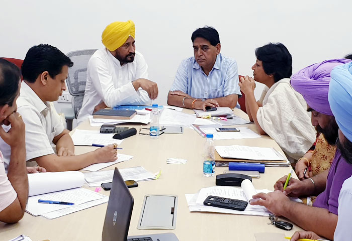 Channi Vini Mahajan at meeting