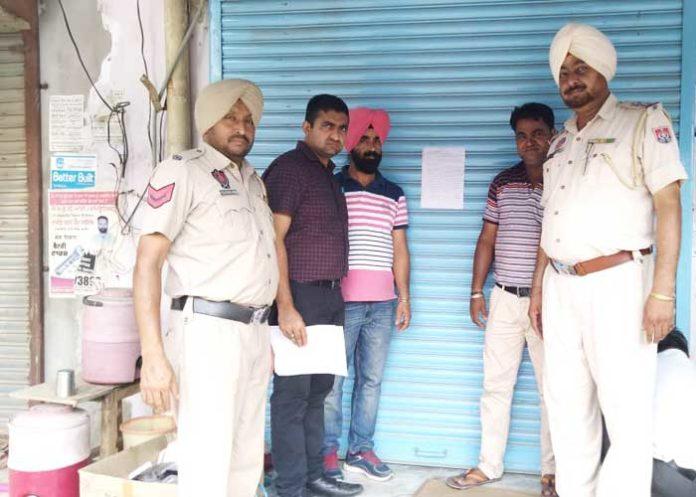 Chemist Shop Sealed in Punjab