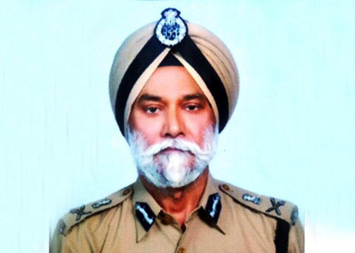 DGP Jasminder Singh