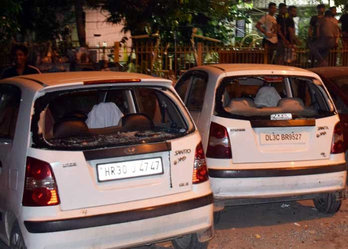 Delhi Tughlakabad violence