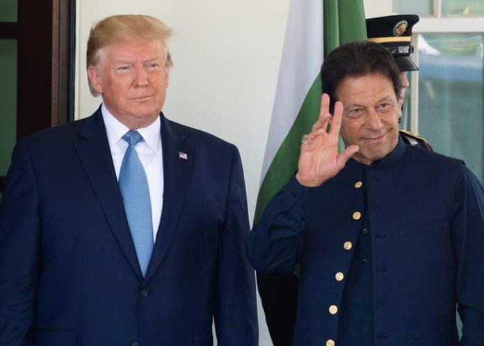 Donald Trump Imran Khan