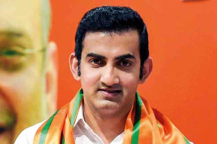 Gautam Gambhir Hit back