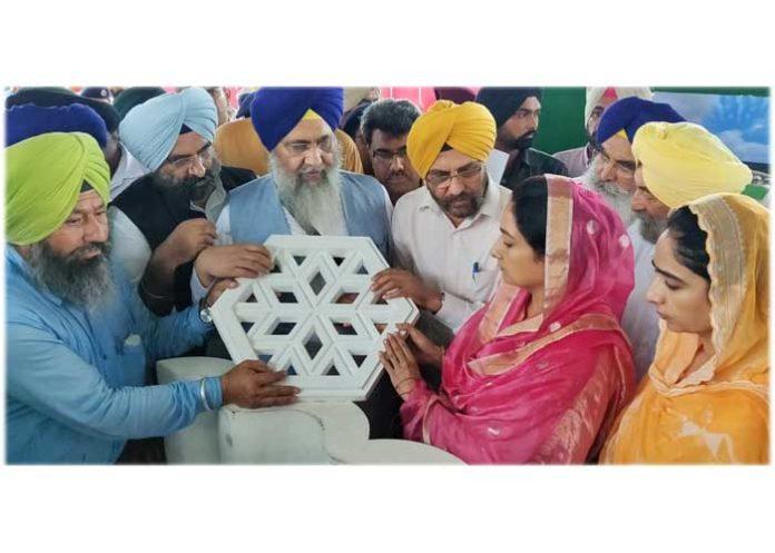 Harsimrat Badal Sultanpur Lodhi visit 17Aug19