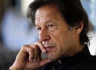 Imran Khan sad