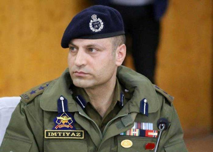 Imtiyaz Hussain JK Cop