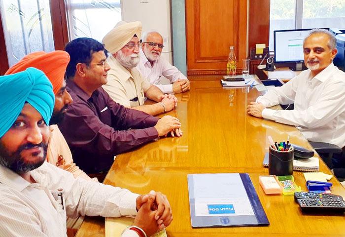 Karan Avtar Singh at meeting 1