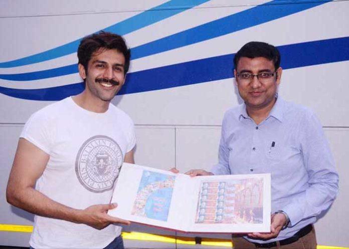 Kartik Aaryan feted with stamps