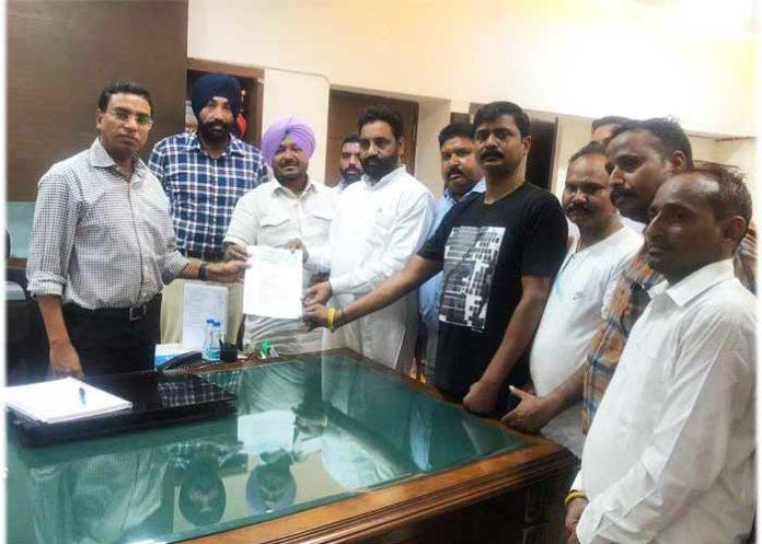 Kuldeep Singh Vaid Letter to Ludhiana DC