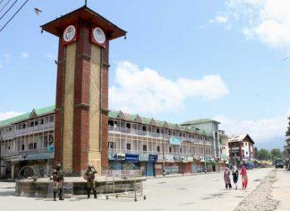 Lal Chowk Srinagar