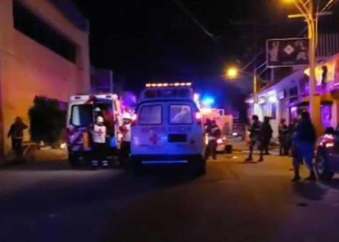 Mexico nightclub fire 28Aug19