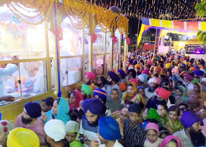Nagar Kirtan at 1 Dehradun