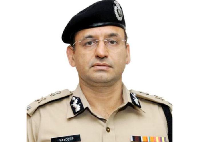 Navdeep Singh Virk IPS ADGP Haryana