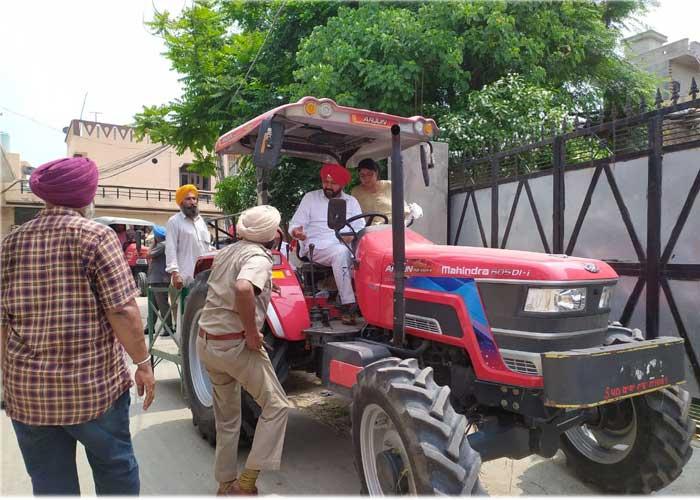 Navtej Cheema Tractor Sultanpur Lodhi