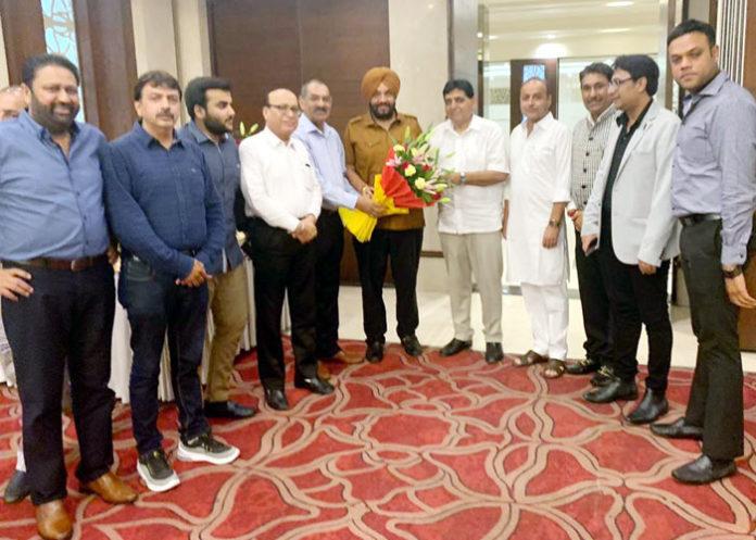 Pansap Chairman honors Tejinder Bittu