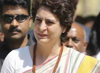 Priyanka Gandhi being