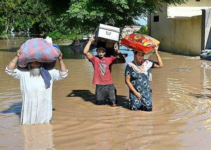 Punjab Flood Village 2019
