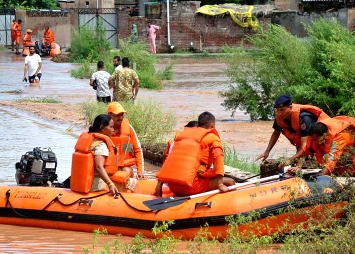 Punjab Flood rescue NDRF 2019