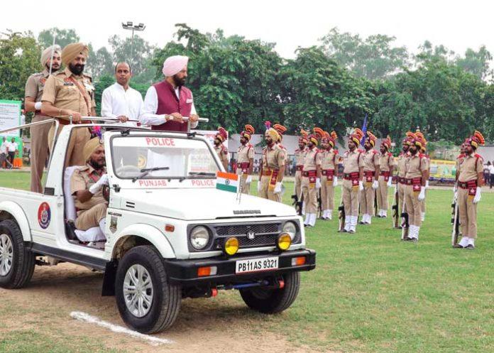 Rana Sodhi March Past Salute Patiala