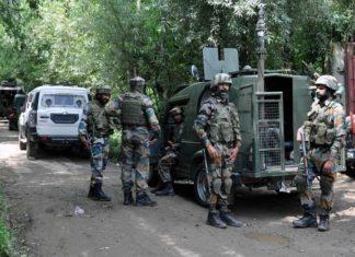 Security Forces in Shopian Kashmir