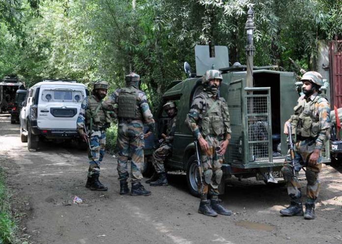 Security Forces in Shopian Kashmir