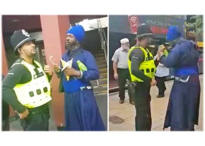 Sikh man was detained at Birmingham