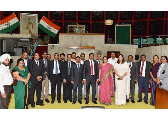 Sri Lankan Judges Delegation Punjab Vidhan Sabha