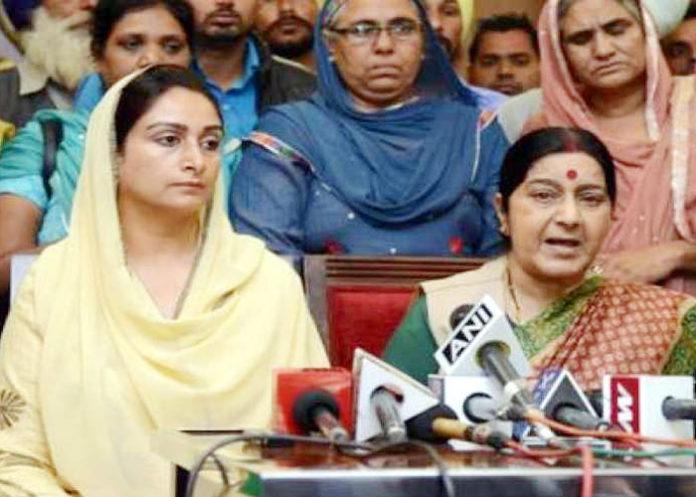 Sushma Swaraj Harsimrat Badal