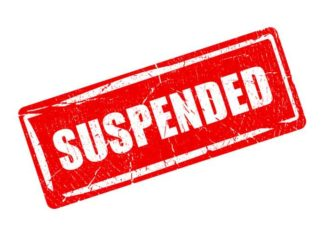 Suspended Logo