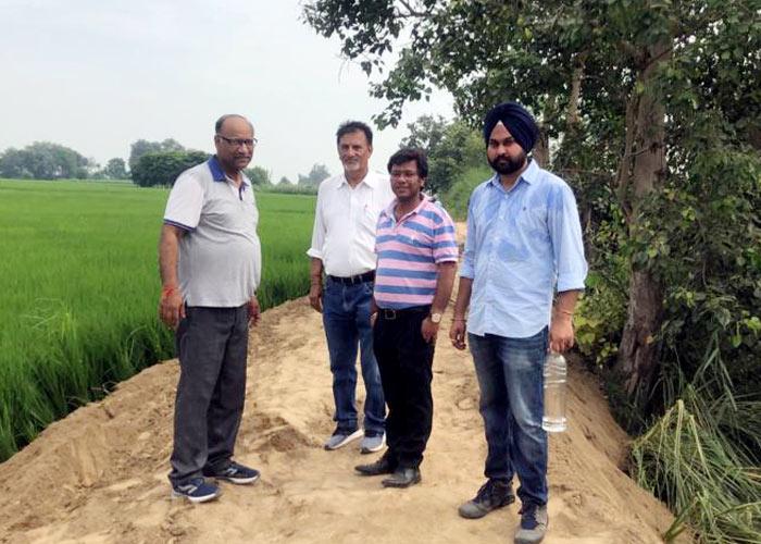 Tindiwala Bundh at Hussainiwala Border in Ferozepur