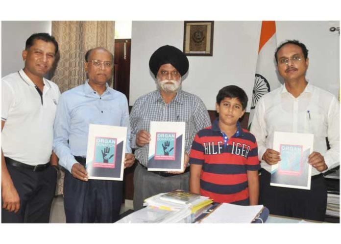 Varinder Sharma Aadit Ayaan Mittal Organ Donation awareness