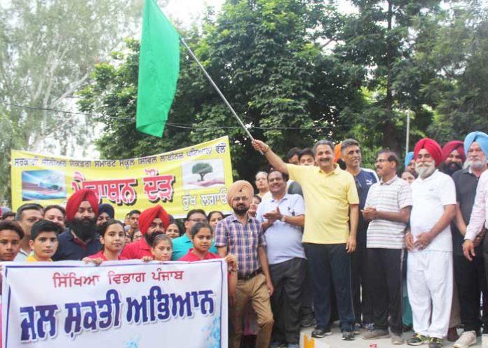 Vijay Inder Singla Marathon for Water Patiala