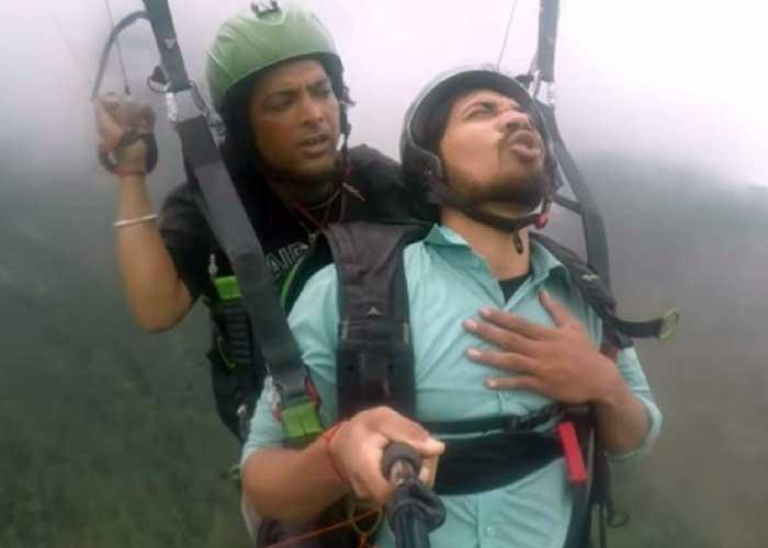 Vipin Sahu Paragliding